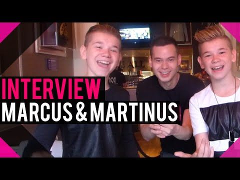 Marcus & Martinus at Hard Rock Café Stockholm (Interview) | wiwibloggs - YouTube