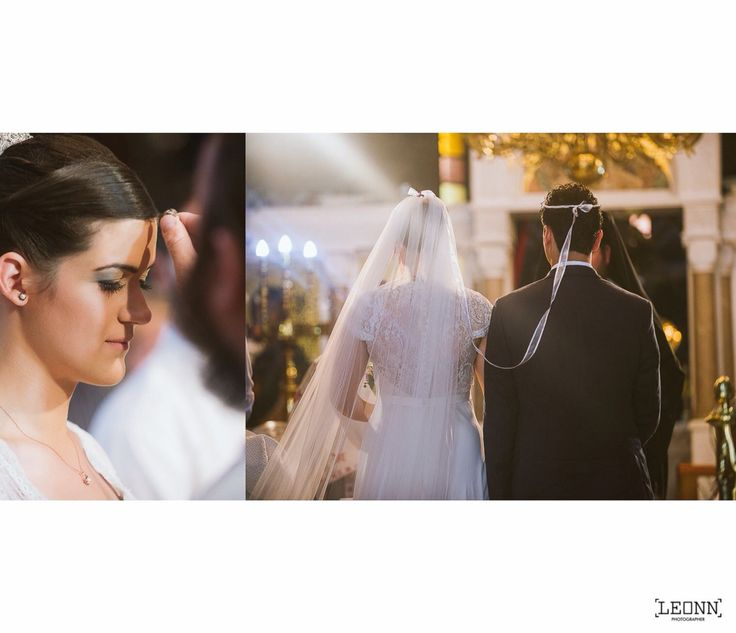 The crowning ceremony in an Orthodox wedding Photo by Leon