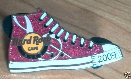 2009-Oslo-all-stars-sneakers-Rare-Ltd-Hard-Rock-Cafe-Lapel-PIN-Spilla-HRC