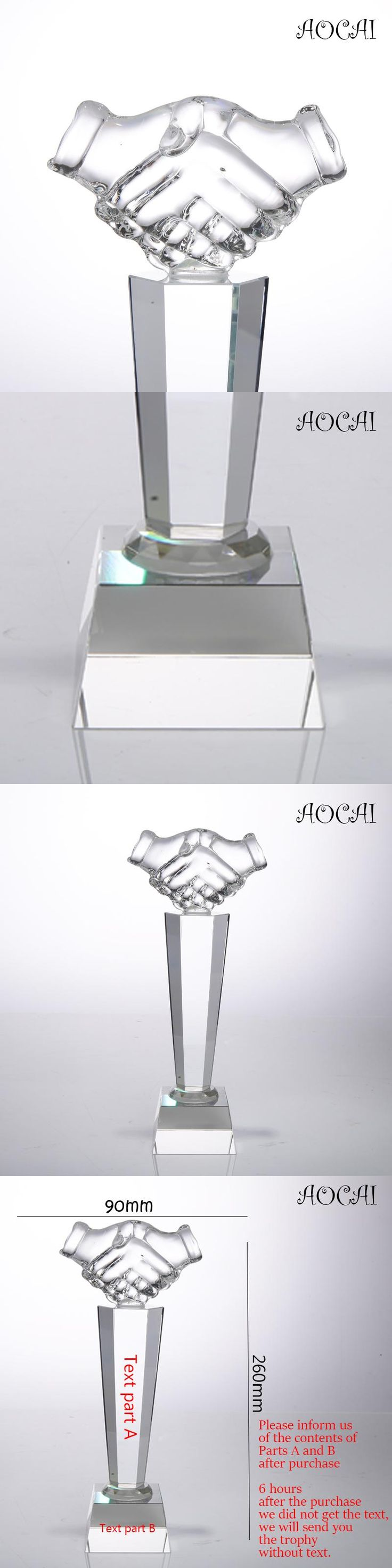 Custom-made Words DIY K9 Crystal Trophy souvenir trophies and awards present gift best gift Business cooperation gifts