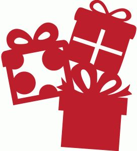 Silhouette Presents And Christmas Gifts On Pinterest