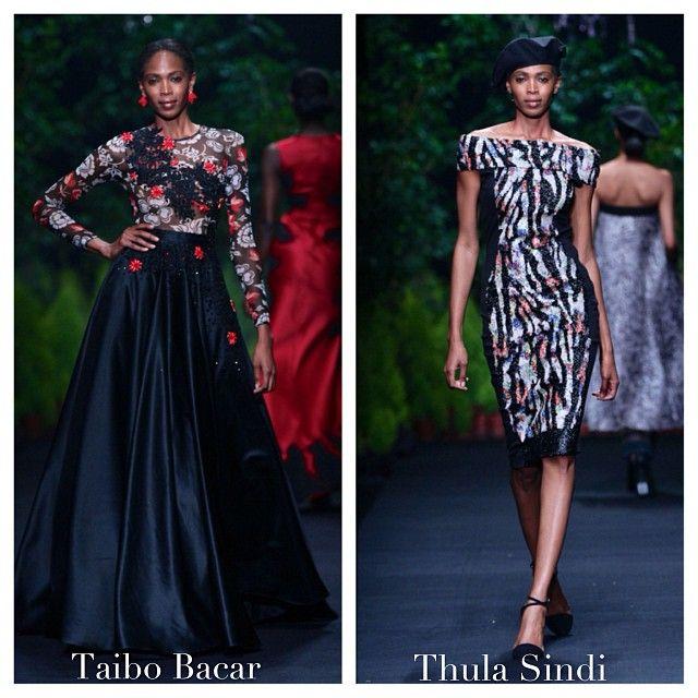 Image by Instagrammer @malabryan #mbfwafrica #TaiboBacar #ThulaSindi