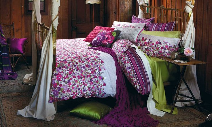 Evelyn Bed Linen by Kas from Harvey Norman NewZealand