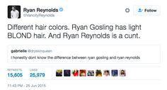 23 Times Ryan Reynolds' Twitter Replies Were Next Level