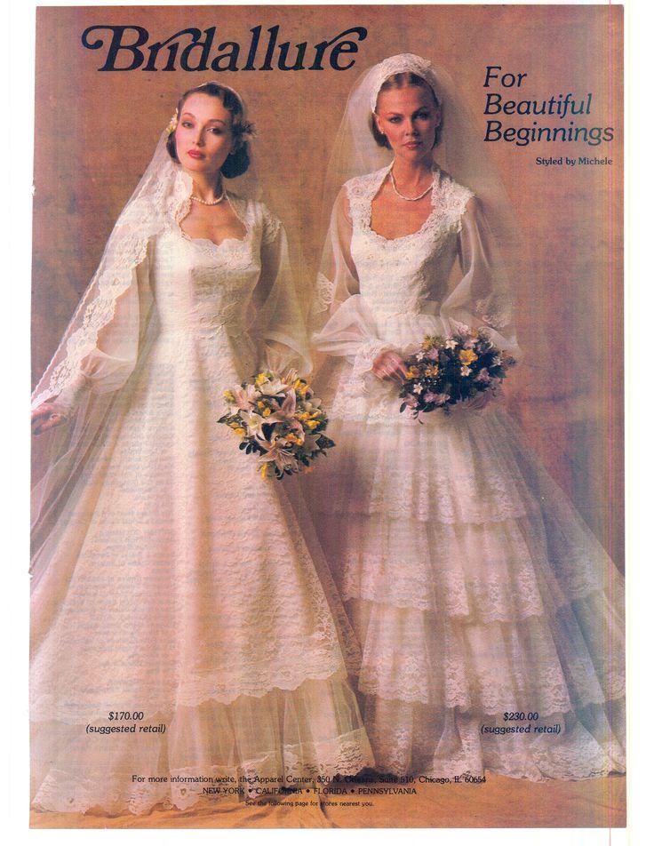 Brides Magazine December 1980/January 1981   Vintage ...