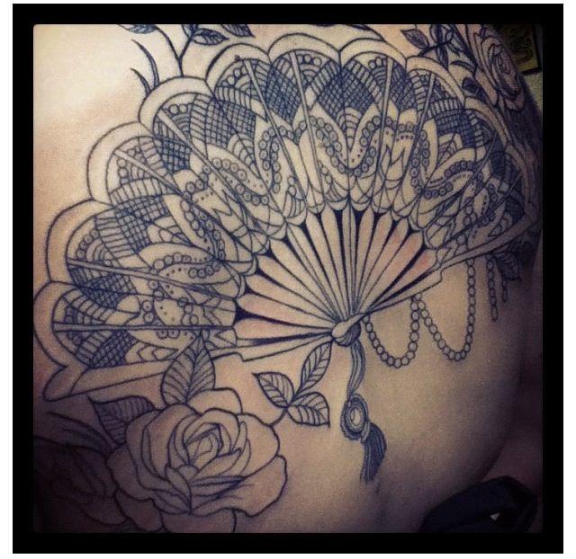 Fan tattoo   http://tattoo-ideas.us/fan-tattoo/  http://tattoo-ideas.us/wp-content/uploads/2013/07/Fan-tattoo.png