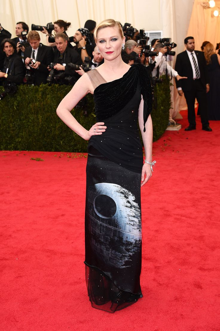 Kirsten Dunst in Rodarte at the 2014 Met Ball