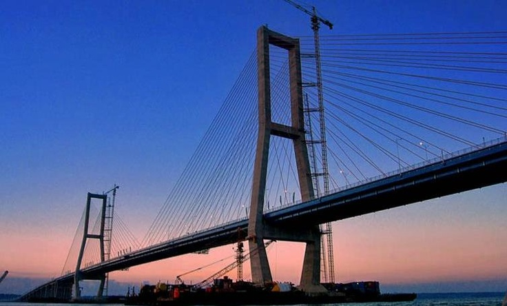 suramadu bridge, Surabaya, Indonesia