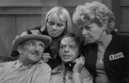 """Convicts-at-Large---Due to his likeness to another man, Sally refers to Barney as """"Al"""". Floyd calls Barney by the name """"Al"""" for the rest of the episode.   One of my all time favs!"""