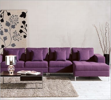 15 Best Images About Purple Sectional Sofa On Pinterest