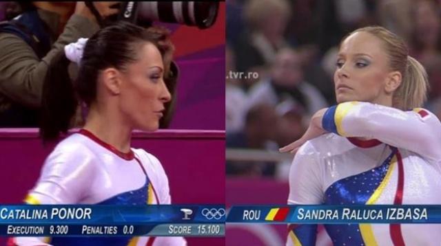 ătălina Ponor şi Sandra Izbaşa intră în finala de gimnastică, individual compus, începând cu ora 18:30, în direct pe TVR1!
