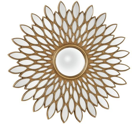 Buy Premier Housewares Alida Gold Wall Mirror at Argos.co.uk, visit Argos.co.uk to shop online for Mirrors, Home furnishings, Home and garden