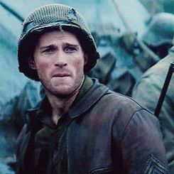 """Pin for Later: Can You Get Through These Scott Eastwood Movie GIFs Without a Cold Shower? If You Look Closely, He's Saying, """"You're My One and Only"""" Just kidding, he is very obviously not saying that."""