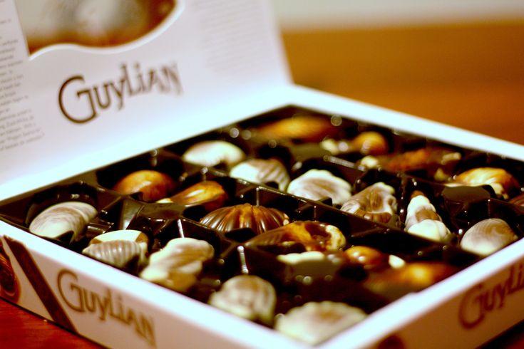 #Guylian Shells. OmG in Guylian Heaven right now. Yes please and Thank you. xx.
