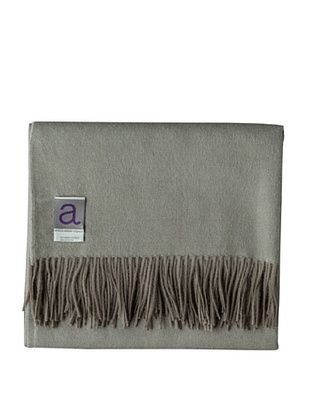 Alicia Adams Alpaca Maya Alpaca-Blend Throw, Mud, 51