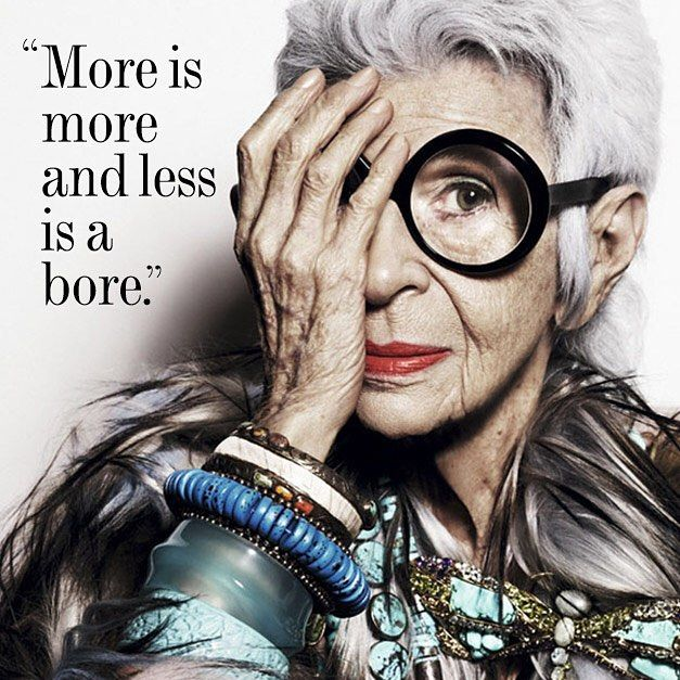 All hail the matriarch of personal style, Iris Apfel, who is 94 years young…