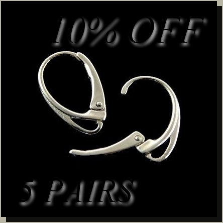 10 OFF 5 PAIRS and 1 EXTRA 6pairs sterling by BraceletsWorld, $29.99