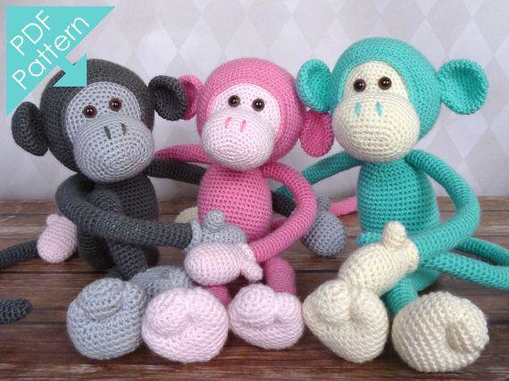 Hey, diesen tollen Etsy-Artikel fand ich bei https://www.etsy.com/de/listing/161348893/mike-the-monkey-amigurumi-crochet