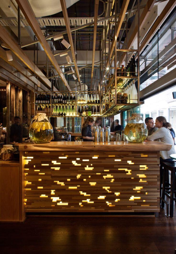 Masu Restaurant, Auckland, New Zealand by Moller Architects
