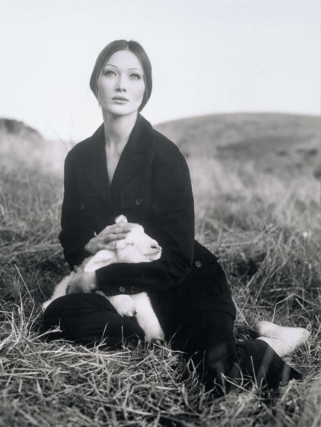 Carla Bruni | Photography by Steven Meisel | Spring 1993