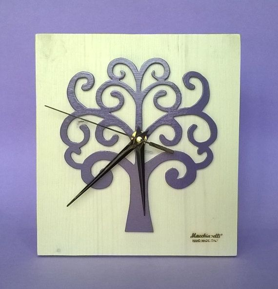 Albero della Vita orologio da parete in legno massello Albero della Vita (Cod. ORO006)