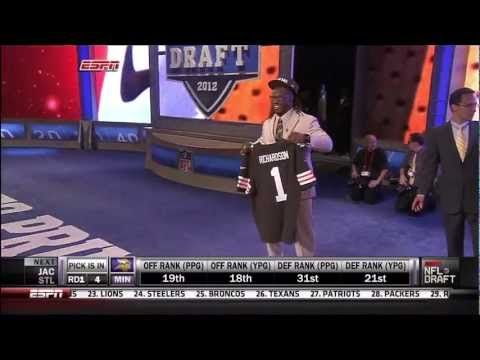 Trent Richardson picked by Cleveland Browns: 2012 NFL Draft