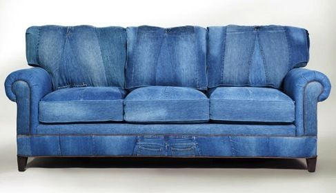 Denim jean upholstery or slip covers look fabulous! Description from rusticmaple.com. I searched for this on bing.com/images