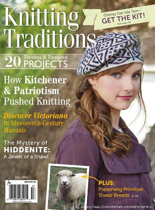 Knitting Traditions Fall 2015