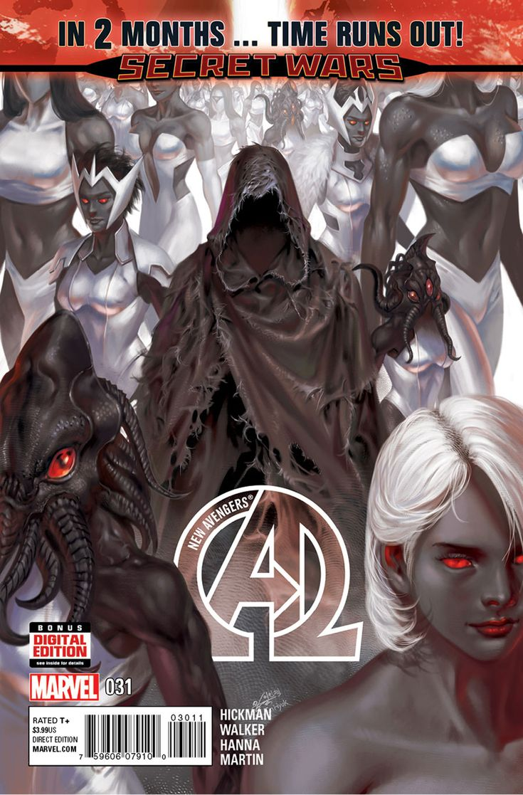 Preview: New Avengers #31, Cover - Comic Book Resources