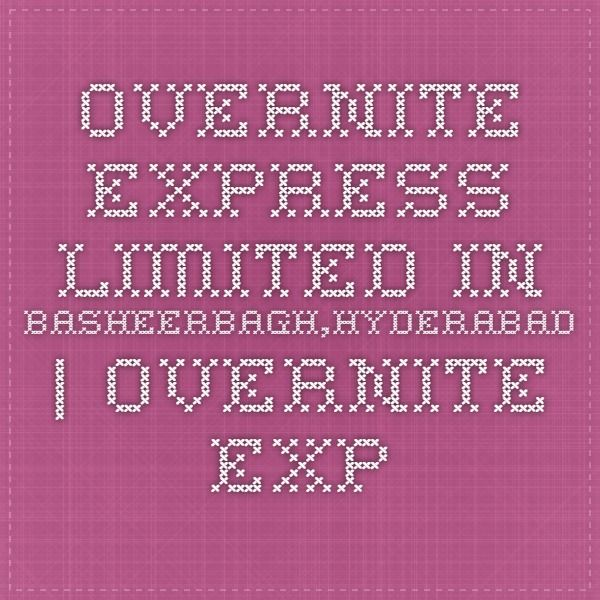 Overnite Express Limited in Basheerbagh,Hyderabad   Overnite Express Limited in 500029   Overnite Express Limited in Courier Services  - cargoandshipping.in