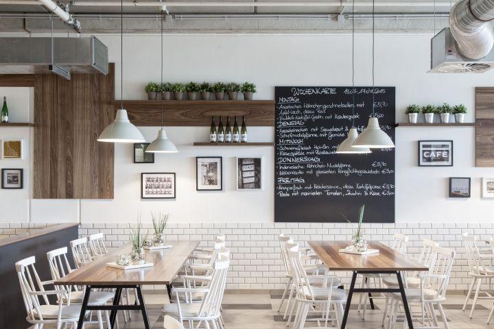 CLINTONS Restaurant & Staff Canteen by Susanne Kaiser ...