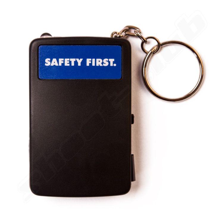 Safety First Schlüsselfinder mit LED Taschenlampe