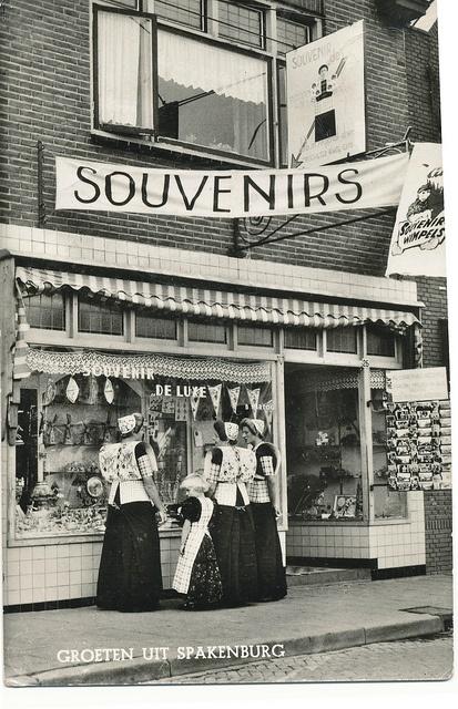 pc spakenburg 1958 by janwillemsen, via Flickr #Utrecht #Spakenburg