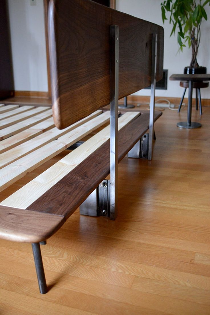 Kanso Bed Etsy in 2020 Bed frame design, New bed