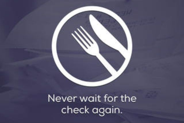 Cover App Lets You Pay for Your Meal Without Waiting for the Check