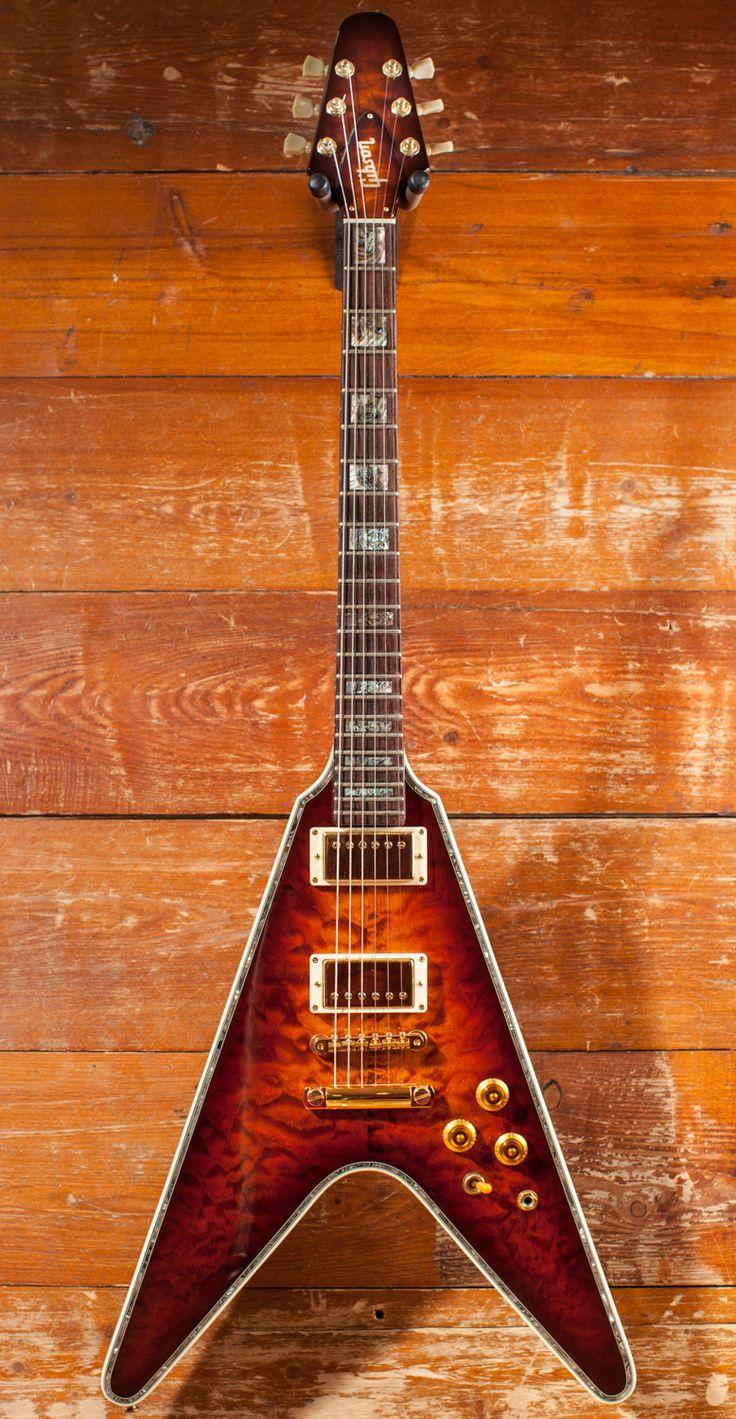 1981 Gibson Flying V one off Quilt HCS.jpg