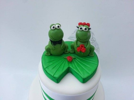 frog wedding cake toppers 20 best frog cake wedding images on frog cakes 4380