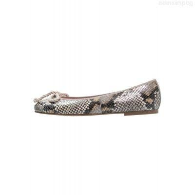 Buy Pretty Ballerinas DIAMANT - Ballet pumps - piedra - - Women Ballerina Shoes Elegant Shoes Online WAYHUVPI