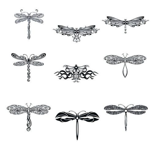Represent Dragonfly Tattoo Samples  #Amberlee Bingham  LOOK AT ALL THE PRETTIES!