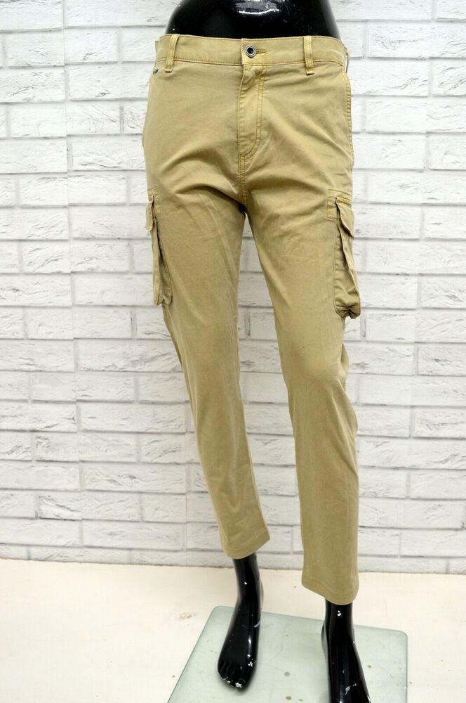 classic fit 55cbe 14d60 Pantalone Cargo GUESS Donna Taglia Size 34 Jeans Pants Woman ...