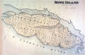 Image result for st lawrence seaway vintage maps howe island ontario