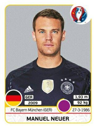 Manuel Neuer - Alemania - EURO 2016