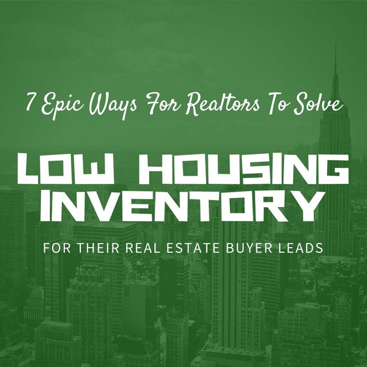 Low housing inventory solutions pinterest real estate for Low cost housing solutions