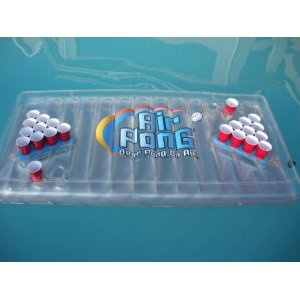 The Inflatable Beer Pong Table: Pools Time, Beerpong, Brewbeer Homemadeb, Inflatable Beer, Pools Parties, Homemadeb Iloveb, Bear Brewbeer, Beer Pong Tables, Pools Beer