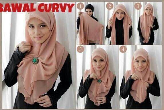 Bawal hijab style