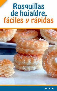 #Rosquillas de #hojaldre, #fáciles y #rápidas