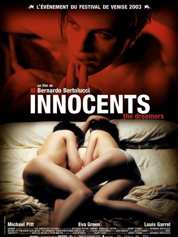 """Michael Pitt, Louis Garrel etEvaGreen dans """"Innocents"""" : Scènes de nu : doublées ou pas? - Linternaute"""