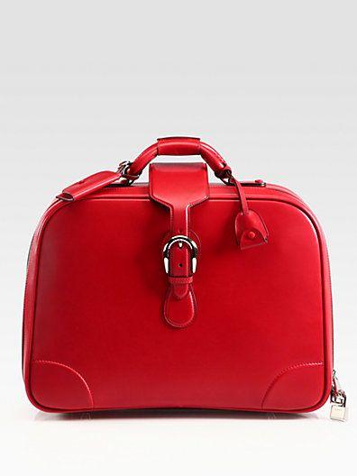 Gucci - Medium Leather Carry-On Duffel