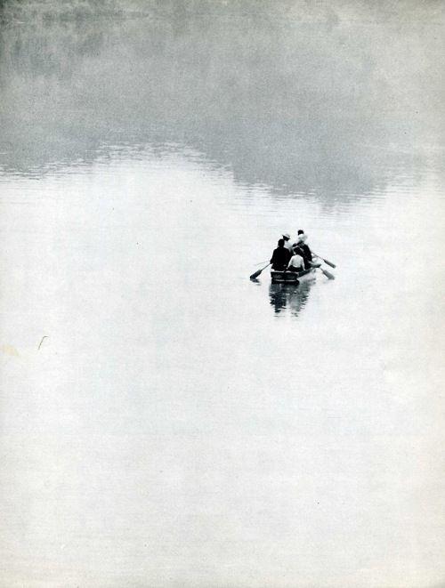 Édouard Boubat (1923-1999): Water, Lakesumm Picnics, Inspiration, Beautiful, White, Édouard Boubat, Edouard Boubat, Row Photographybw, Boubat 19231999