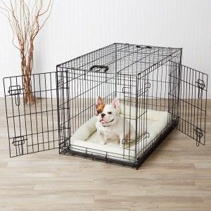 The 25+ Best Indoor Dog Kennels Ideas On Pinterest | Indoor Dog Rooms, Dog  Spaces And Pet Stairs For Bed